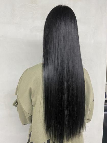 【🧚あこがれのストレートヘア】髪質改善地毛風ストレート+髪質改善カット+TOKIOリペアトリートメント