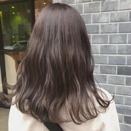 ❤️土日限定❤️前髪カット&アディクシーカラー & ラメラメトリートメント(ブロー代込み)