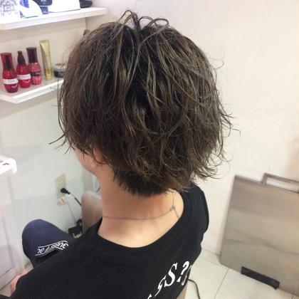 馬部研二郎のメンズヘアスタイル・髪型