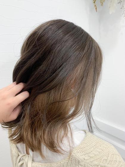 【🐤新規限定50%オフ🐤】前髪カット➕Wカラー➕生トリートメント