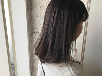#アオハル🔸《小顔前髪カット》➕《イルミナorアディクシーorスロウカラー》➕《TOKIOトリートメント》🔸