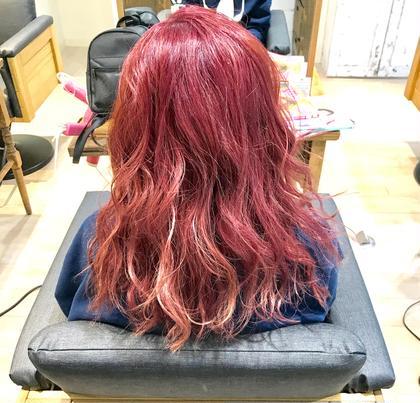春色!ピンクのグラデーション Barretta  by neolive所属・関勇也のスタイル