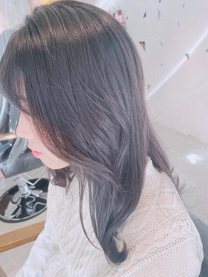 🍀平日ミニモ限定クーポン(土曜・日曜日❌)🍀            大人気韓国人風カット+イルミナカラー🌈