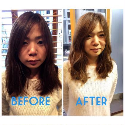少しの長さと前髪、顔周りに似合わせレイヤーを入れるだけでこんなに変わる HAIR&LIFEC所属・苅田茂樹のスタイル