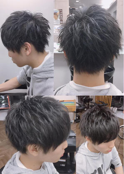 矢野貴久のメンズヘアスタイル・髪型