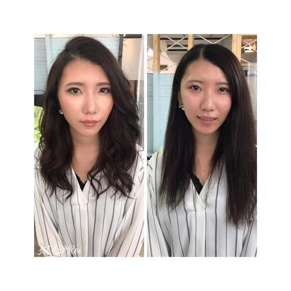 ※メイクアドバイスコース Before→After  Flair.4&M Lip Rei(マリップレイ)所属・Flair.4M Lip reiのスタイル
