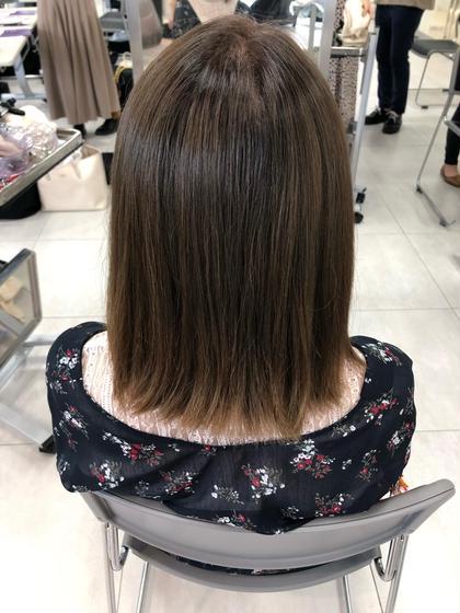 aujua4ステップトリートメント!  お客様の髪や頭皮のお悩みに合ったトリートメントを選定させて頂きます! FORTE所属・美容師兼アイリスト下四日市翠のスタイル