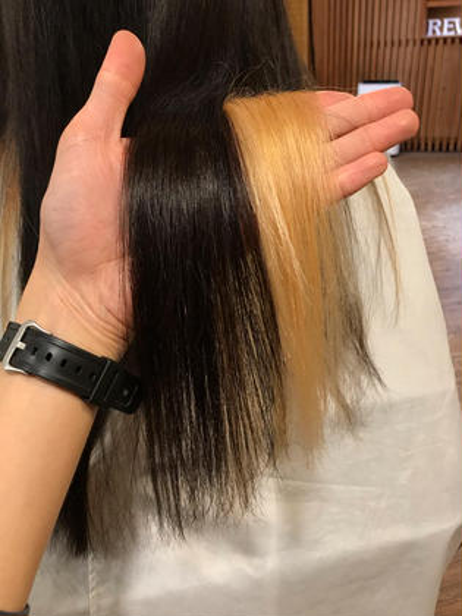 ブリーチしてる人用のハイパー髪質改善縮毛矯正✨縮毛矯正を断られ続けた人、一度試しませんか?✨