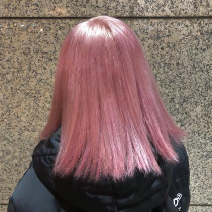 カラー ミディアム ピンクホワイト かなり薄く作ってます!