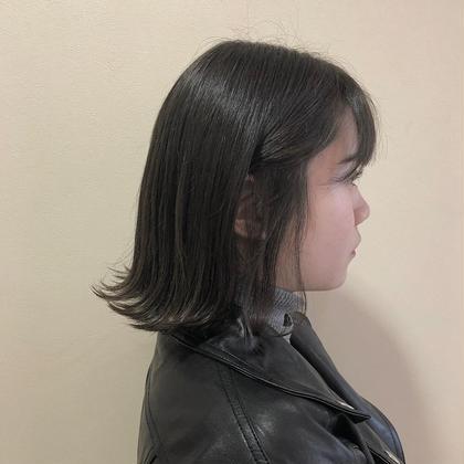 dark gray ☆彡 yehatov  hair所属・松山実穂のスタイル