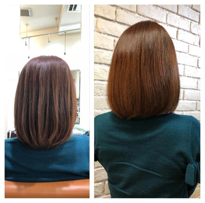 ☆natural brown☆ 涼しい季節などにオススメの髪色です! Bär所属・遠藤巧のスタイル