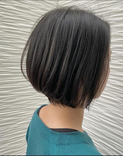 ⭐️おさまりボブ⭐️  毛量が多い人も 軽やかに見えるおさまりボブ⭐️  インナーを、しっかりとすいて 表面をやや重めに作って 毛束が出やすいようにしたら おさまりGOODのボブが完成です👌😊