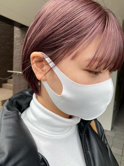 《デビューテストモデル募集》バッサリカット+カラー🥯🤍