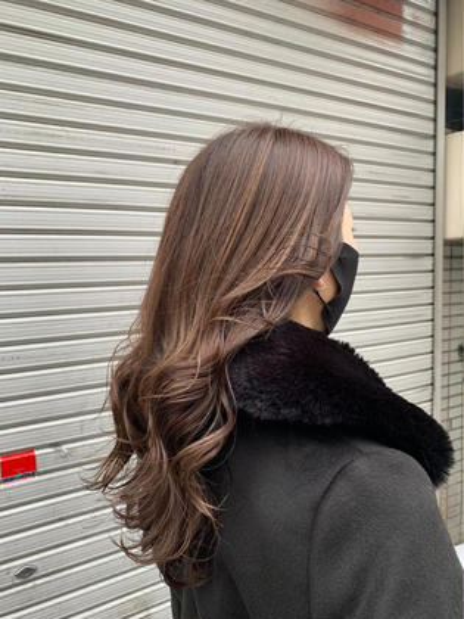 🌼New🌼前髪カット+透明感フルカラー+1stepトリートメント+超音波アイロン/錦糸町