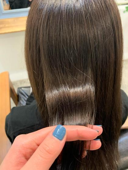 髪質改善ハイクラストリートメント