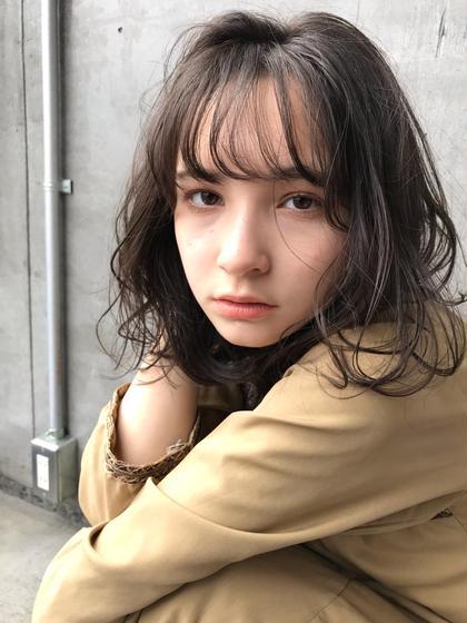 ♦️今だけ♦️透明感カラー+キューティクル補修トリートメント¥3800