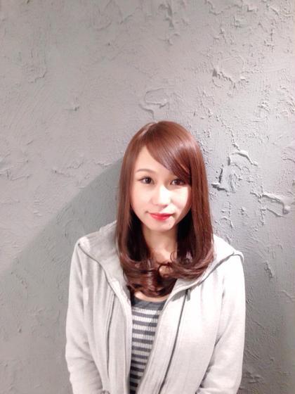 アッシュヴァイオレット系 ええ色〜 フレア所属・片山健吾のスタイル