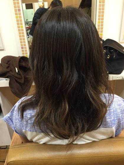 ゆるふわパーマ(≧∇≦) カラーもアッシュベースで 透け感をだしてみました(・Д・)ノ Field所属・kyoheiitoのスタイル