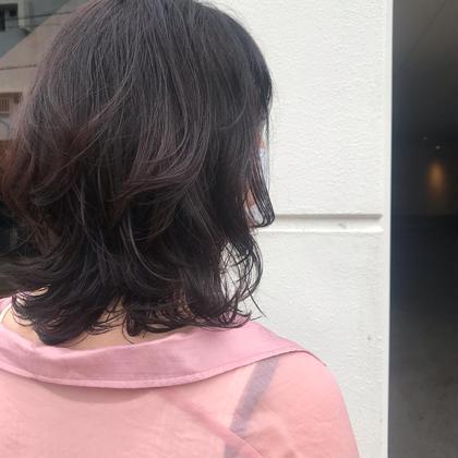 【パーマメニュー人気No.1️⃣⭐️👏👏👏】カット+トリートメントパーマ+シャンプー+ブロー