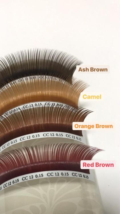 秋カラー120本💁🏻♀️🤎4種のブラウン2種まで使用可《アッシュ、キャメル、オレンジ、ボルドー》