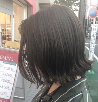 イルミナカラー🌟 さのさやかのミディアムのヘアスタイル