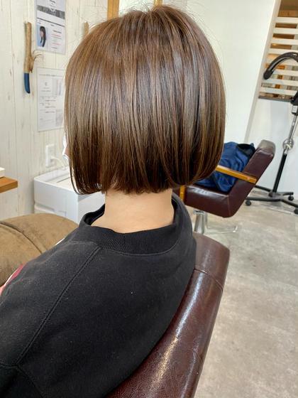 🌸4月限定🌸透明感のある髪に⭐︎カット+イルミナ or アディクシーカラー+COTAトリートメントコース