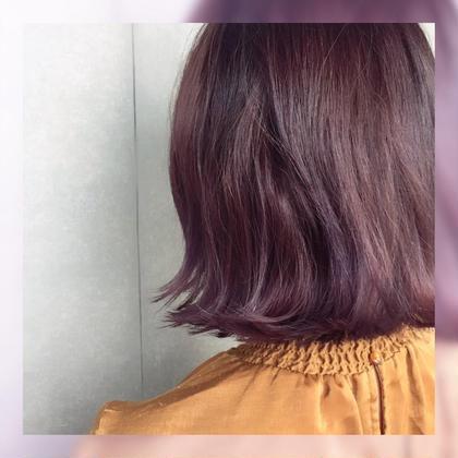 ヘアカラー&ハホニコトリートメント✨ハホニコでサラサラ♪髪色も思い通りに(^^)