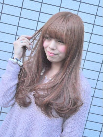 【潤う艶カラー】似合わせカット+N.カラー(白髪対応)+トリートメント ¥9500