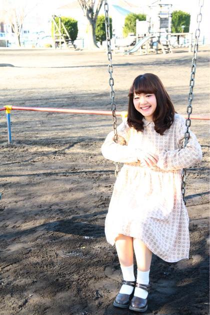 モデルさんの雰囲気に合わせて 公園で撮影 relounge (リラウンジ江木店)所属・佐藤千香のスタイル