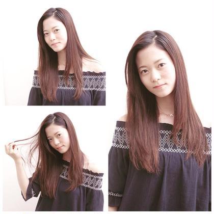 清楚系ロング♪(^^) そのまんまでOKな楽チンstyle☆ hairstudioOLIVE南森町店所属・河野豊のスタイル