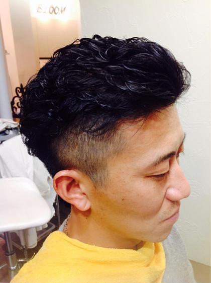 宮城リョータ風カットです♡ ジェルで仕上げました(o^^o) Bloom hair所属・馬止美佳のスタイル