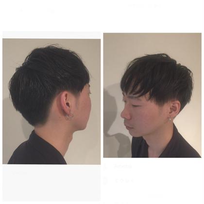 刈り上げ マッシュ ジェルで仕上げました bless hair所属・今関由紀子のスタイル