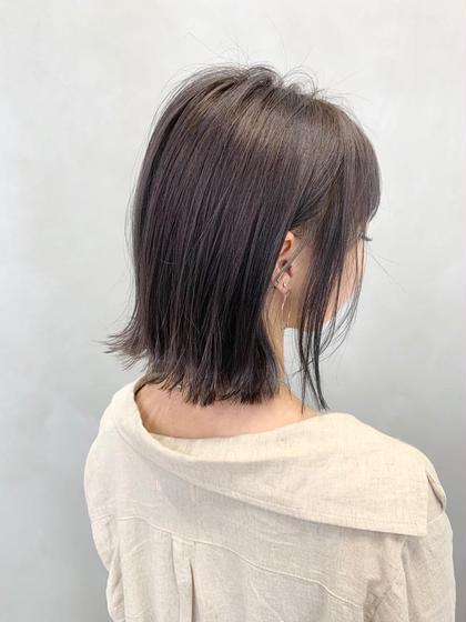 💥赤味撃退!透明感もらえます💥イルミナカラー+美髪トリートメント*