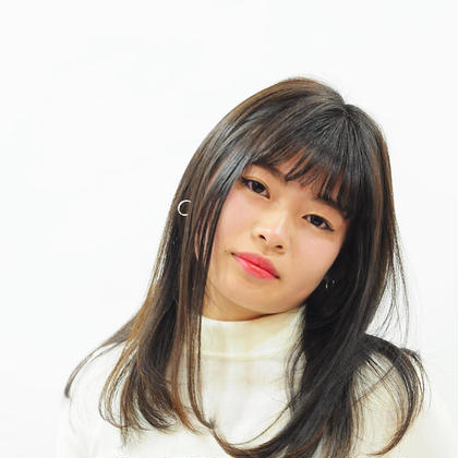 韓国mix艶ストレートヘア amacahair& nail life所属・田向恵美のスタイル