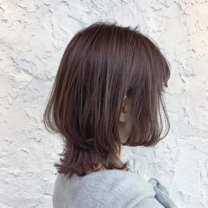 ❤️【初回限定🎉】カット・透明感カラー・トリートメント🧸