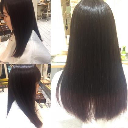 *べリピグラデーション* ほんのりピンクで全体カラーして、 毛先はグラデーションで濃いめのベリピを入れました!  馴染みにのいいカラーでツヤ感も抜群です!✨ neoliveRunon所属・💛モテヘア💛津田圭介のスタイル