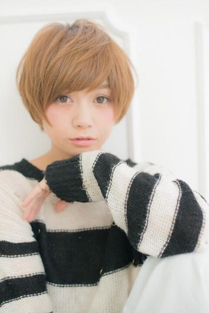 ショートマッシュです! 幅広く色んな人に似合いますよ(^ω^) guriri所属・yuta.のスタイル