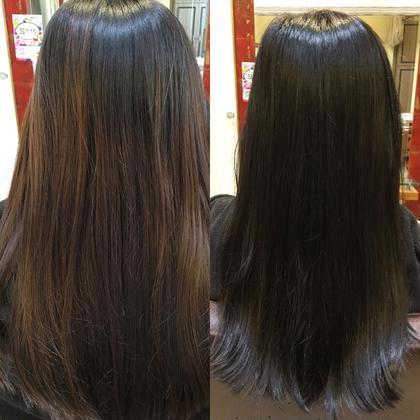 色落ちで明るく退色したブラウンを就活ということで、自然で綺麗な黒髪にシフトチェンジ!黒染めも可能です! Neolive所属・佐々木裕司のスタイル