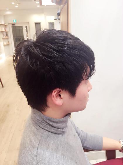 耳周りもスッキリ☆ 量の調整もできます☺︎ paige by neolive所属・松下芽衣のスタイル