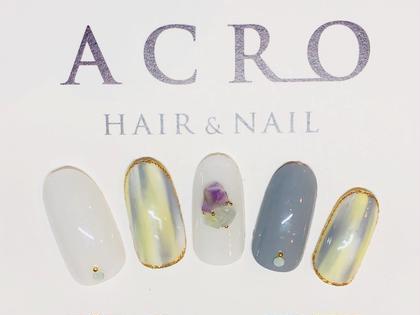 ACRO HAIR&NEIL所属のACRONAILのネイルデザイン