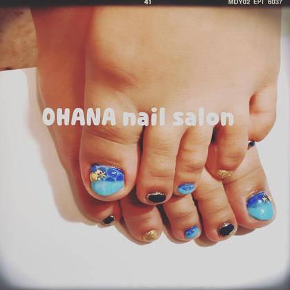 【お好みデザインコース】 色変更OK ドロップデザイン(*^_^*)  OHANA自宅ネイルサロン所属・陳しゅう帆のフォト