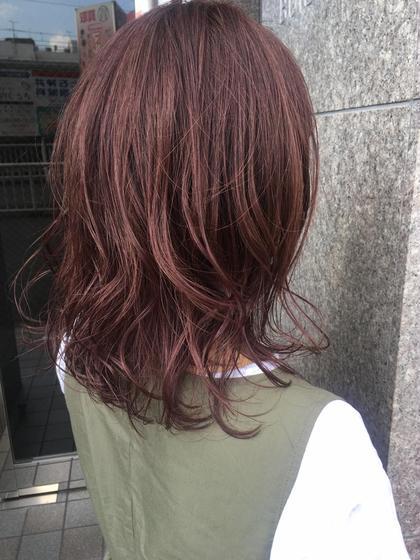 【  No.3人気 🌟 】カット + カラー (オージュアトリートメント付き💐)