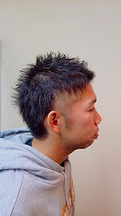 hair de parusa 所属・小澤直幸のスタイル