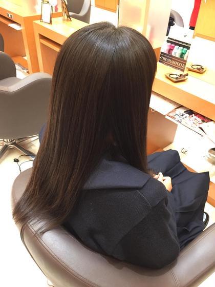 毛先のまとまらない方には是非ストレートパーマがオススメです! 髪質改善専門店 Mellhairdesign所属・北川慎悟のスタイル