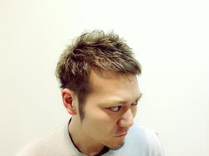 ツーブロック(=´∀`)人(´∀`=) アッシュカラー(=゚ω゚)ノ hair flage所属・永田大樹のスタイル