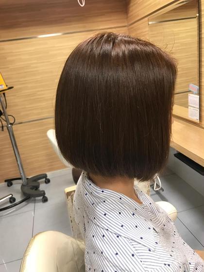 ⭐️大人女性の為の艶髪⭐️小顔カット&ダメージレス艶カラー、うる艶トリートメント!