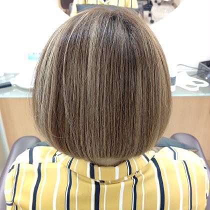 《髪質改善》サイエンスアクア(S-AQUA)+iNOAフルカラー+カット