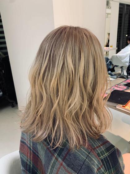 🍋【人気No.2】🍋毛髪再生アディクシーカラー&超音波3ステップトリートメント髪に優しいカラー剤✨#透明感ハイトーン