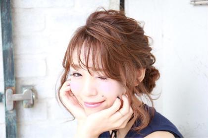 プリンセス風アレンジ☆ lafith hair corona所属・横山貴大のスタイル
