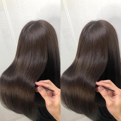 💛🌈【極】本物の髪質改善シルクカラー✨➕カット➕ダメージ分解シャンプー 🌈💛✂️